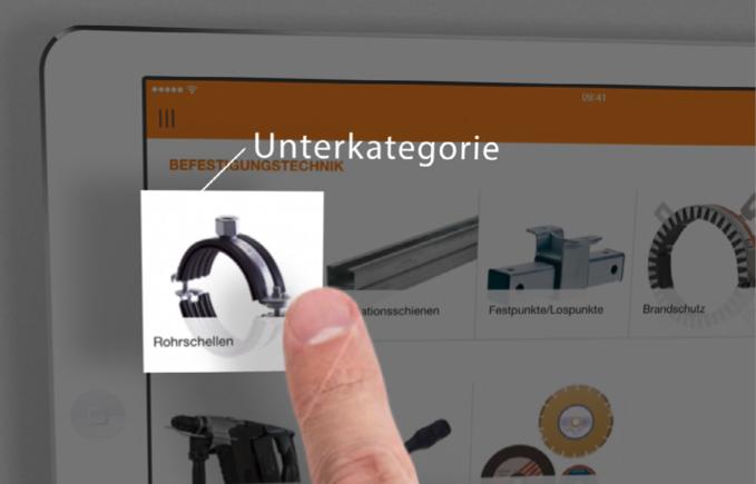 Produkttutorial App Detail