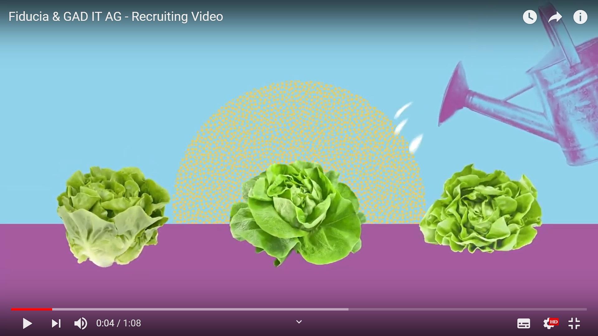 Link zu Recruiting Video von Fiducia